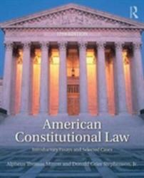 American Constitutional Law (ISBN: 9781138227835)