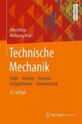 Technische Mechanik - Statik - Reibung - Dynamik - Festigkeitslehre - Fluidmechanik (ISBN: 9783658162023)