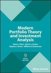 Modern Portfolio Theory and Investment Analysis (ISBN: 9781119427292)