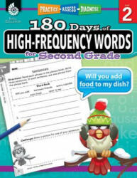 180 Days of High-Frequency Words for Second Grade (ISBN: 9781425816353)