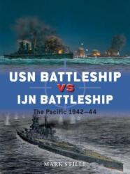 USN Battleship vs IJN Battleship - The Pacific 1942-44 (ISBN: 9781472817198)