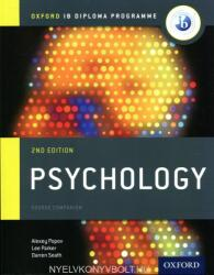 IB Psychology Course Book: Oxford IB Diploma Programme (ISBN: 9780198398110)