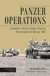 Panzer Operations - Hermann Hoth, Linden Lyons (ISBN: 9781612005621)