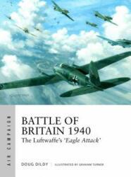Battle of Britain 1940 - Doug Dildy, Graham Turner (ISBN: 9781472820570)