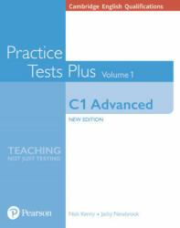 Cambridge English Qualifications: C1 Advanced Volume 1 Practice Tests Plus (ISBN: 9781292208718)