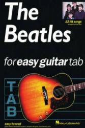 Beatles For Easy Guitar Tablature - Arthur Dick (ISBN: 9780711970816)