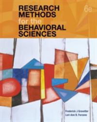 Research Methods for the Behavioral Sciences (ISBN: 9781337613316)