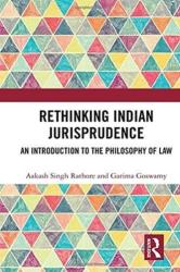 Rethinking Indian Jurisprudence (ISBN: 9781138630314)