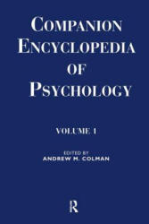 Companion Encyclopedia of Psychology: 2-Volume Set (ISBN: 9780415064460)