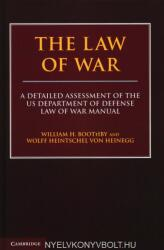 Law of War - A Detailed Assessment of the US Department of Defense Law of War Manual (ISBN: 9781108427586)