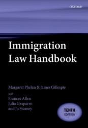 Immigration Law Handbook (ISBN: 9780198815402)
