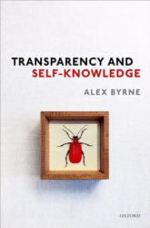 Transparency and Self-Knowledge (ISBN: 9780198821618)