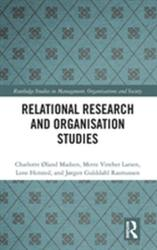 Relational Research and Organisation Studies (ISBN: 9780815394150)