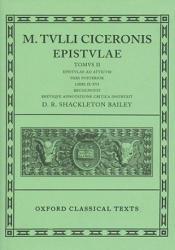 Cicero Epistulae. Vol II. Part ii - Marcus Tullius Cicero (ISBN: 9780198146414)
