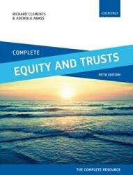 Complete Equity and Trusts - Text, Cases, and Materials (ISBN: 9780198787549)