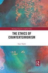 Ethics of Counterterrorism (ISBN: 9781138498105)