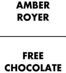 Free Chocolate - Amber Royer (ISBN: 9780857667502)