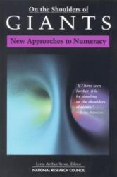 On the Shoulders of Giants - New Approaches to Numeracy (ISBN: 9780309084499)