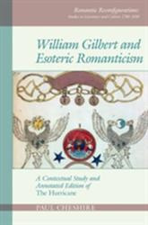 William Gilbert and Esoteric Romanticism - A Contextual Study and Annotated Edition of 'The Hurricane' (ISBN: 9781786941206)