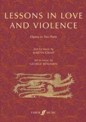 Lessons in Love and Violence (ISBN: 9780571540556)