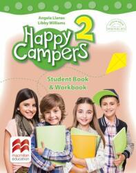Happy campers. Student Book, Workbook. Clasa a II-a (ISBN: 9786063327551)