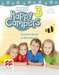 Happy campers. Student Book, Workbook. Clasa a III-a (ISBN: 9786063327575)