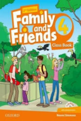 Family and Friends: Level 4: Class Book with Student MultiROM - N. Simmons (ISBN: 9780194808323)