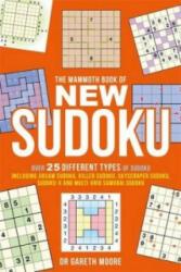 Mammoth Book of New Sudoku - Gareth Moore (ISBN: 9781472100221)