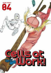 Cells At Work! 4 - Akane Shimizu (ISBN: 9781632363916)