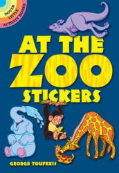 At the Zoo Stickers (ISBN: 9780486481814)