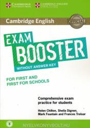 Cambridge English Exam Booster for First and First for Schools Without Answer Key with Audio: Comprehensive Exam Practice for Students (ISBN: 9781316641750)