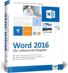 Word 2016 - Christine Peyton, Olaf Altenhof, Andre Möller, Daniel Peyton (ISBN: 9783842101944)