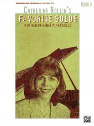 CATHERINE ROLLIN FAVORITE SOLOS BOOK 3 - CATHERINE ROLLIN (ISBN: 9780739040003)