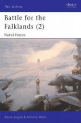 Battle for the Falklands - Adrian English, Anthony J. Watts (ISBN: 9780850454925)