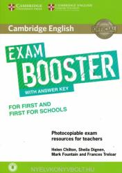 Cambridge English Exam Booster for First and First for Schools with Answer Key with Audio - Photocopiable Exam Resources for Teachers (ISBN: 9781316648438)