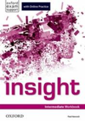 insight: Intermediate: Workbook with Online Practice - Paul Hancock (ISBN: 9780194015059)