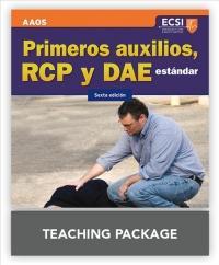 Primeros Auxilios, RCP Y DAE Estandar, Sexta Edicion Primeros Auxilios, RCP Y DAE Estandar, Sexta Edicion Teaching Package - AAOS (ISBN: 9781449695347)