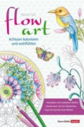 flow art - Nikolaus Lenz, Hanne Türk (ISBN: 9783934333987)