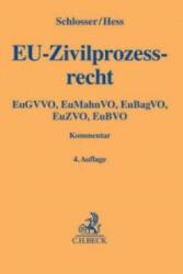 EU-Zivilprozessrecht (ISBN: 9783406658457)