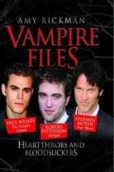 Vampire Files - Amy Rickman (ISBN: 9781843582649)