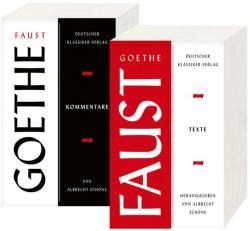 Faust. Zwei Teilbände. - Johann Wolfgang Goethe, Albrecht Schöne (ISBN: 9783618680529)