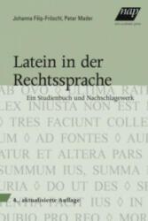 Latein in der Rechtssprache (ISBN: 9783700318989)