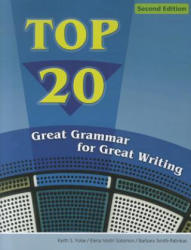 Top 20 - Great Grammar for Great Writing (ISBN: 9780618789672)