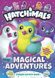 Magical Adventures: Sticker Activity Book (ISBN: 9781524786359)