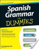 Spanish Grammar For Dummies (ISBN: 9781118023808)