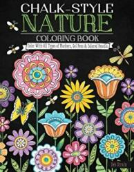 Chalk-Style Nature Coloring Book - Deb Strain (ISBN: 9781497201736)