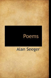 Alan Seeger - Poems - Alan Seeger (ISBN: 9781103762583)