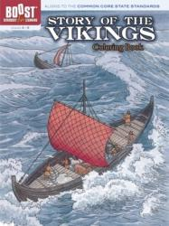 BOOST Story of the Vikings Coloring Book - A. G. Smith (ISBN: 9780486494395)