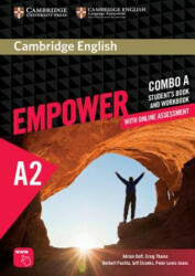 Cambridge English Empower Elementary Combo A with Online Ass - Adrian Doff (ISBN: 9781316601228)