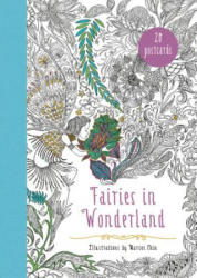 Fairies in Wonderland 20 Postcards - An Interactive Coloring Adventure for All Ages (ISBN: 9780062466235)